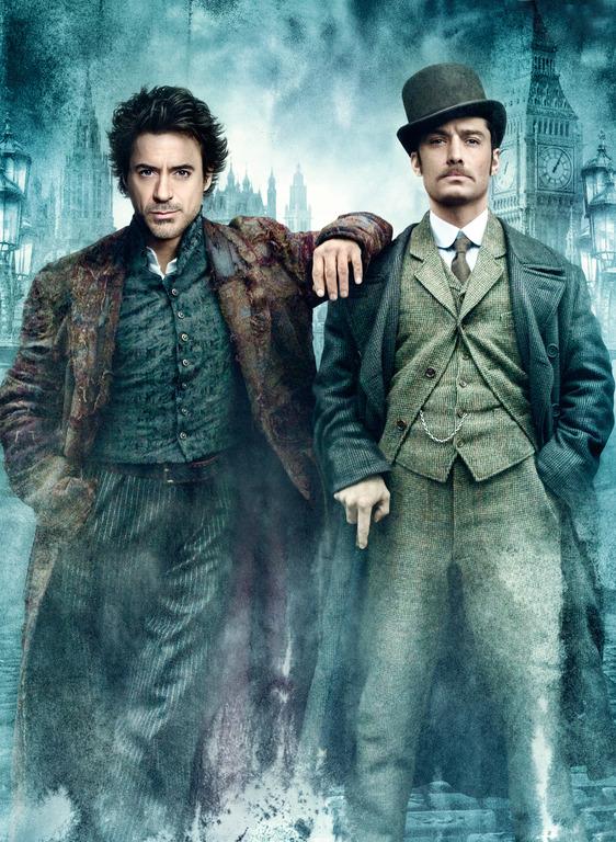 Кадры из фильма «Шерлок» / 2010 - снимается
